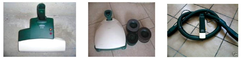 Aspirapolvere folletto vk 122 scopa elettrica offerta usato con garanzia - Polvere per tappeti folletto ...