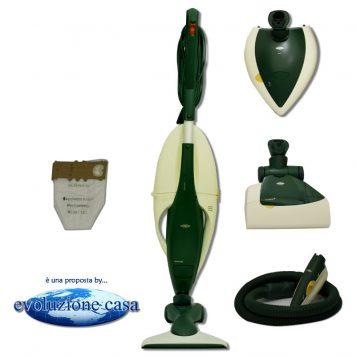 """Folletto Vorwerk Vk 130-131 con spazzola HD + EB 350/51 Battitappeto / Battimaterasso + PL 515 lucidatrice + PB 420 """"Picchio"""""""