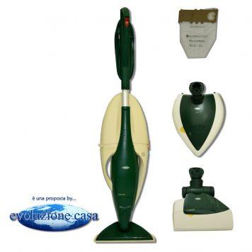 olletto Vorwerk 130-131 con spazzola normale + EB 350/51 Battitappeto / Battimaterasso + PL 515 Lucidatrice