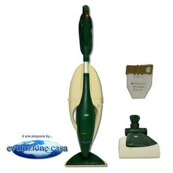 Folletto Vorwerk 130-131 con spazzola normale + EB 350/51 Battitappeto / Battimaterasso
