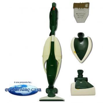 Folletto Vorwerk Vk 130-131 con spazzola HD + EB 350/51 Battitappeto / Battimaterasso + PL 515 Lucidatrice