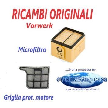 Filtri originali per Folletto VK 135-136